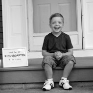 Brody's First Day of Kindergarten.
