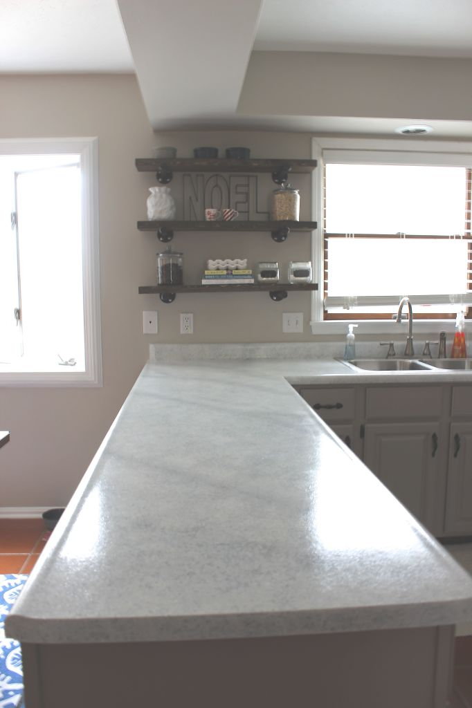Giani Granite Counter Top : Kitchen reveal with giani countertop kit giveaway