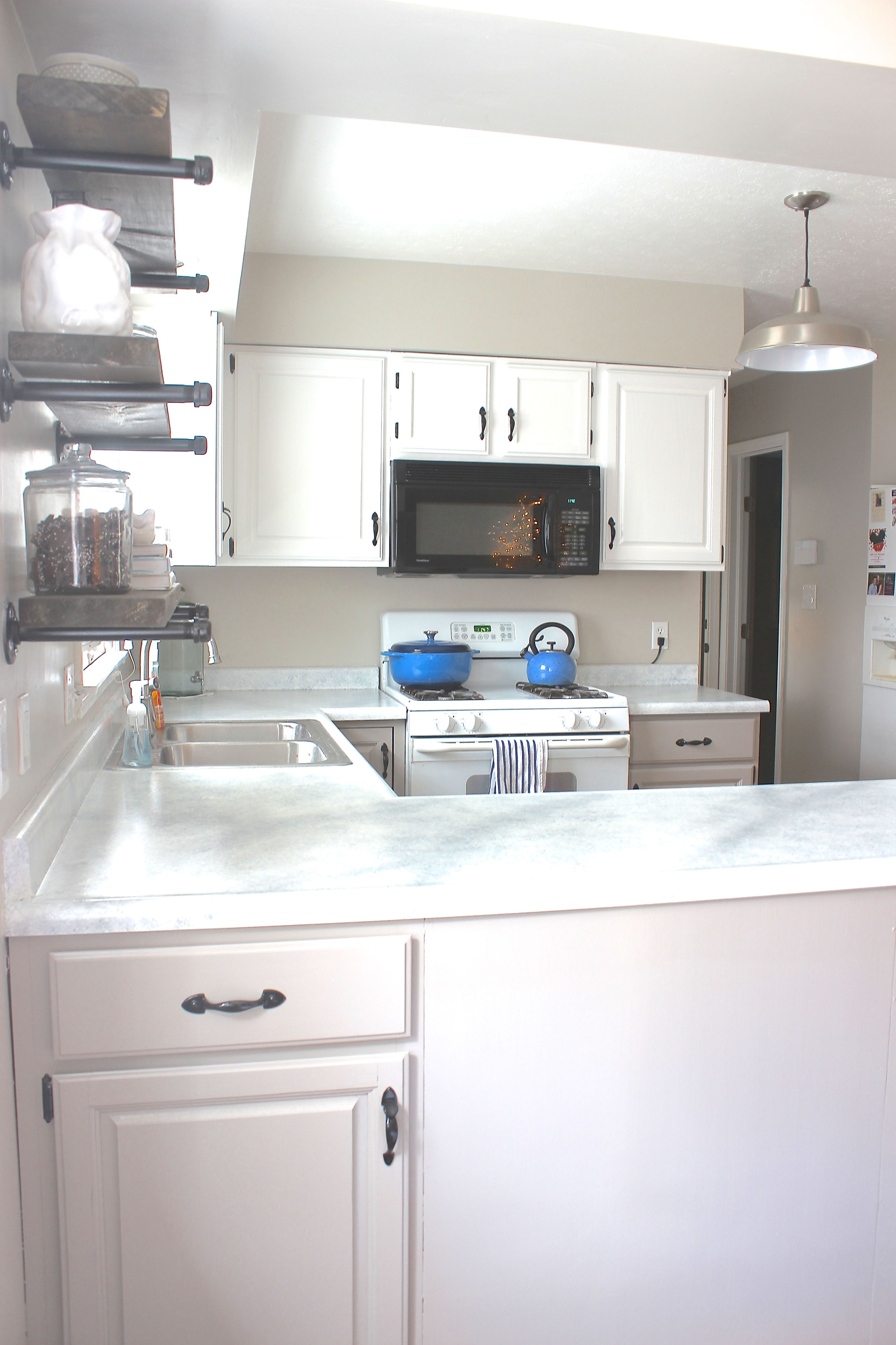 Kitchen Reveal With Giani Countertop Kit Giveaway