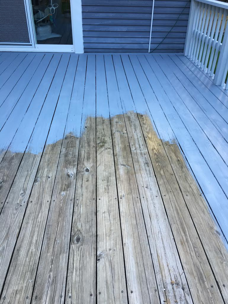 48 hour deck makeover with ryobi the paintsupplies were covered on our end not part of the collaboration to paint our deck baanklon Images