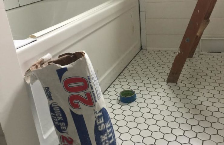 Bathroom Remodel – 3 months later …