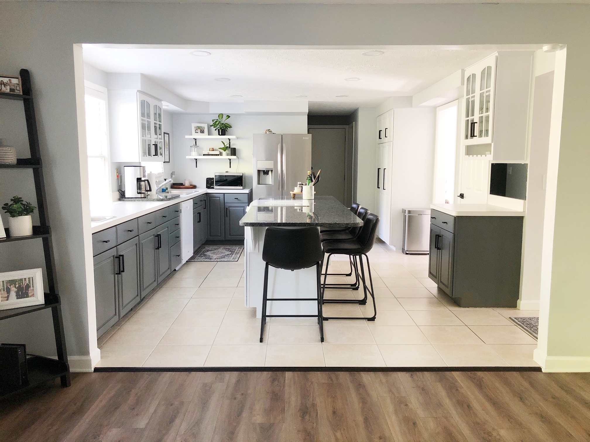 Kitchen Makeover With Nuvo Cabinet Paint The Thome Home